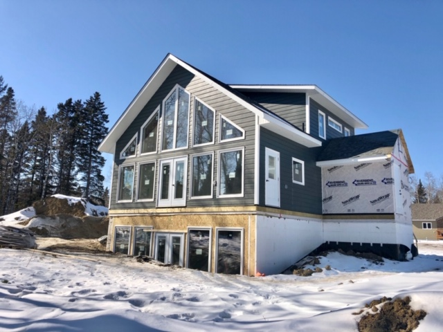 For sale: Custom offsite constructed home, to be finished to your liking